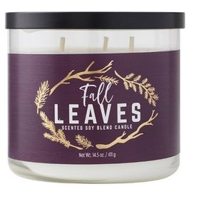 Fall Leaves Soy Candle